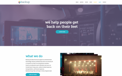 Launch of new site