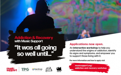 Backup Joins in Funding For Free Bursaries For Addiction and Recovery Aware training workshop