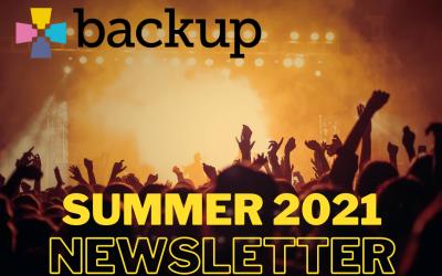 backup newsletter summer 2021